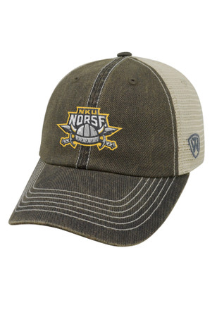 Top of the World Northern Kentucky Norse Mens Grey Dirty Mesh Adjustable Hat
