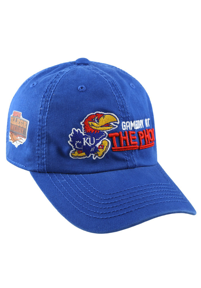 Top of the World Kansas Jayhawks Mens Blue Game Day at the Phog Adjustable Hat - Image 2
