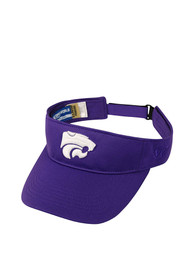 K-State Wildcats Top of the World Hawkeye Adjustable Visor - Purple