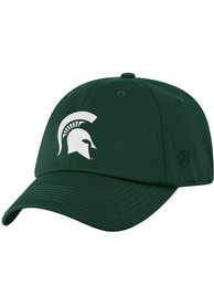 Michigan State Spartans Top of the World Rush Adjustable Hat - Green