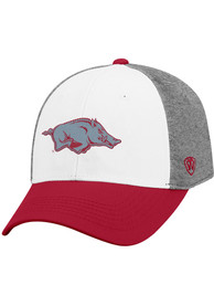 Arkansas Razorbacks Top of the World Hustle Flex Hat - Grey