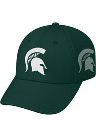 Michigan State Spartans Top of the World Rails Flex Hat - Green