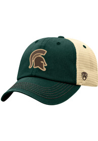 Michigan State Spartans Top of the World Outlander Adjustable Hat - Charcoal