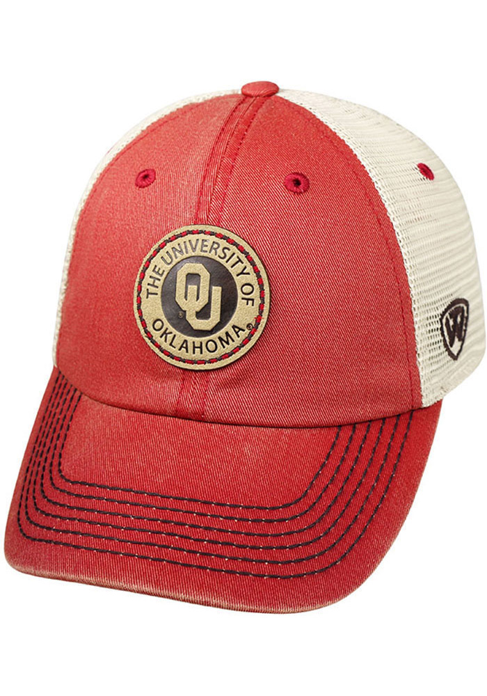 performance sportswear san francisco official supplier Top of the World Oklahoma Sooners Outlander Adjustable Hat - Grey ...