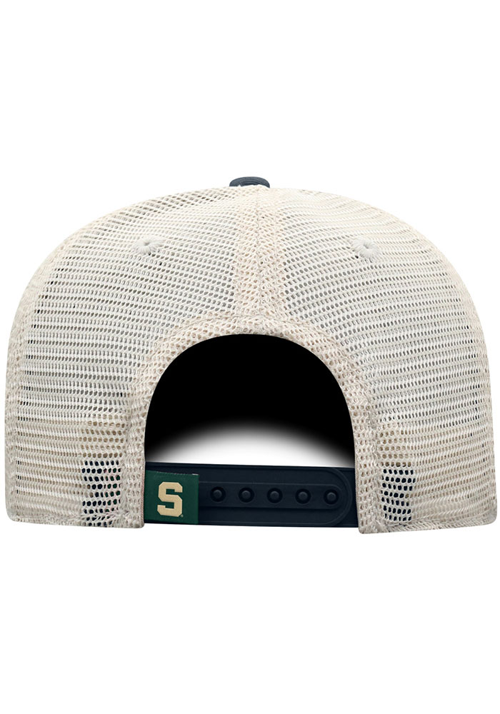 Top of the World Michigan State Spartans United Adjustable Hat - Charcoal - Image 2