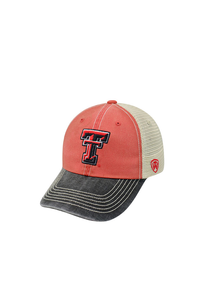 Texas Tech Red Raiders Red Offroad Youth Adjustable Hat - Image 1