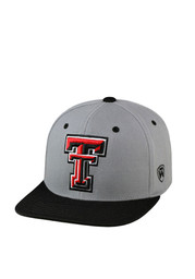 Top of the World Texas Tech Red Raiders Mens Grey Intense Flex Hat