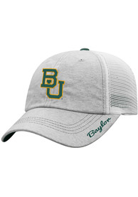 Top of the World Baylor Bears Womens Grey Glamour Adjustable Hat