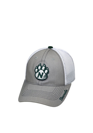 Top of the World Northwest Missouri State Bearcats Grey Glamour Adjustable Hat