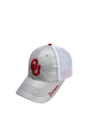 Top of the World Oklahoma Sooners Grey Glamour Adjustable Hat