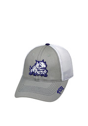 Top of the World TCU Horned Frogs Grey Glamour Adjustable Hat