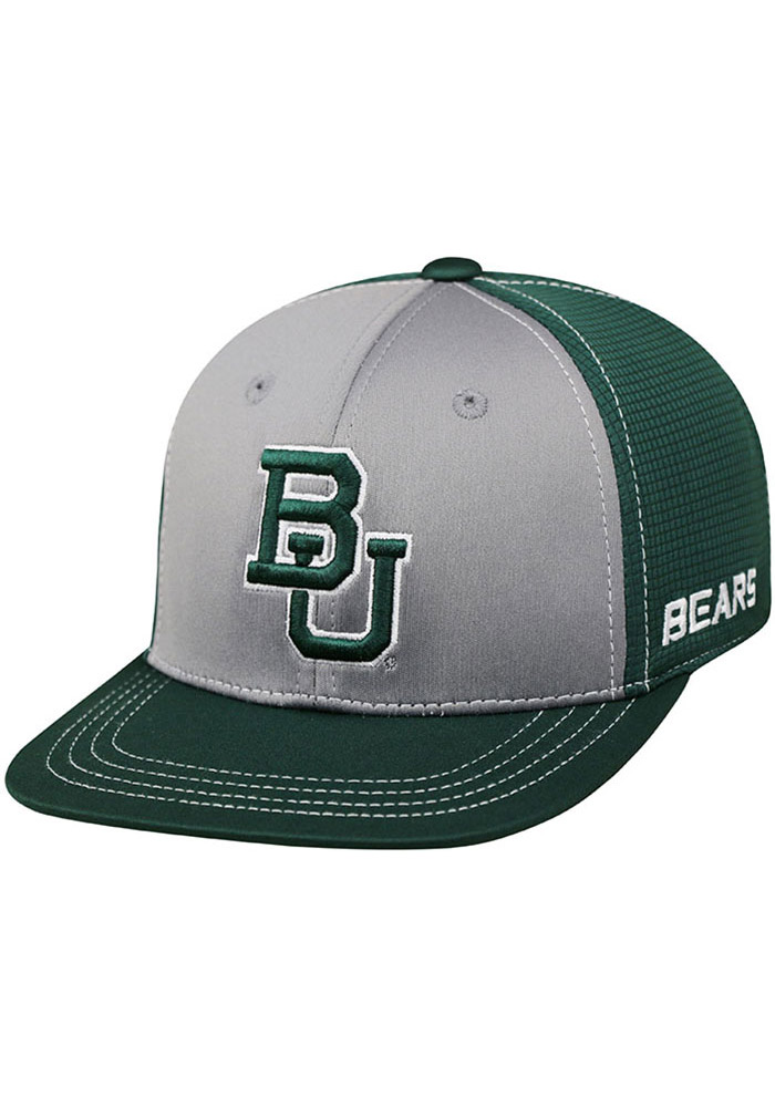 Top of the World Baylor Green Dynamic Youth Flex Hat 14403123