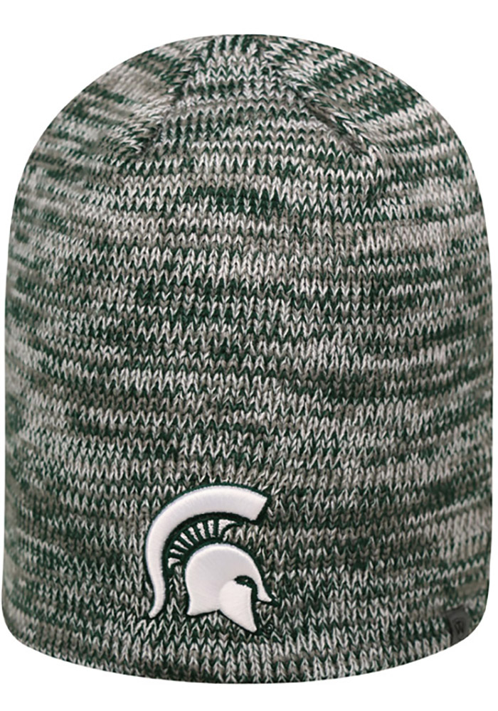 Top of the World Michigan State Spartans Green Glaze Mens Knit Hat - Image 1