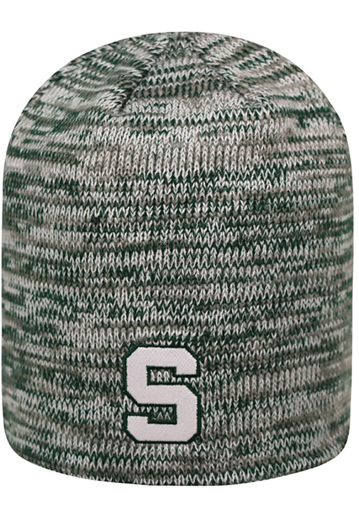 Top of the World Michigan State Spartans Green Glaze Mens Knit Hat - Image 2