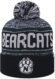 9f1bfd712d874 Top of the World Northwest Missouri State Bearcats Black Acid Rain Knit Hat
