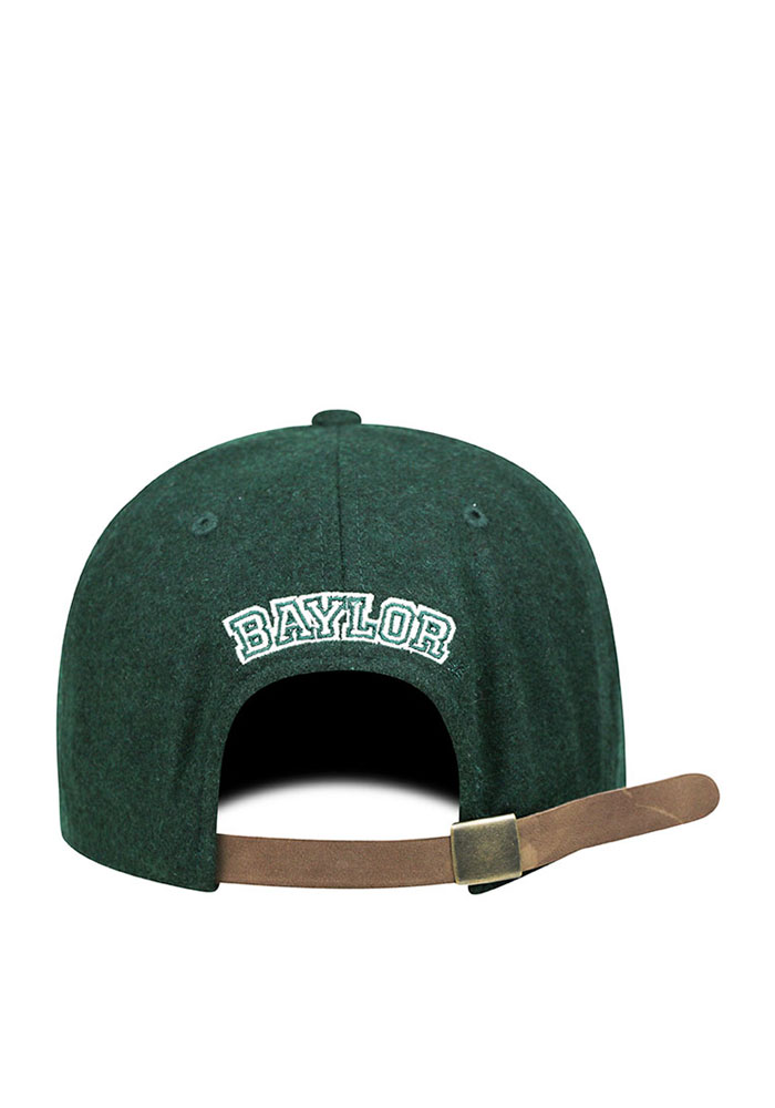 Top of the World Baylor Bears Mens Green Vintage Natural Adjustable Hat - Image 2
