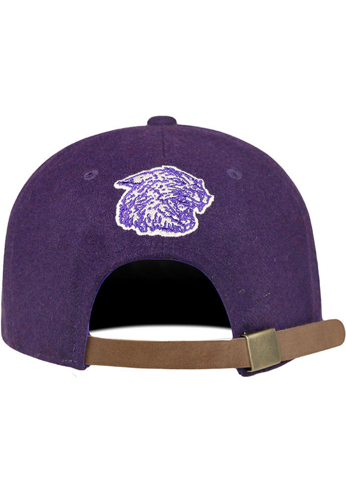 Top of the World K-State Wildcats Mens Purple Vintage Natural Adjustable Hat - Image 2