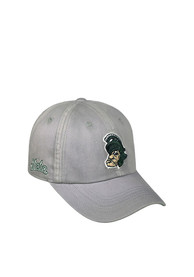 Michigan State Spartans Top of the World Vintage Crew Adjustable Hat - Grey