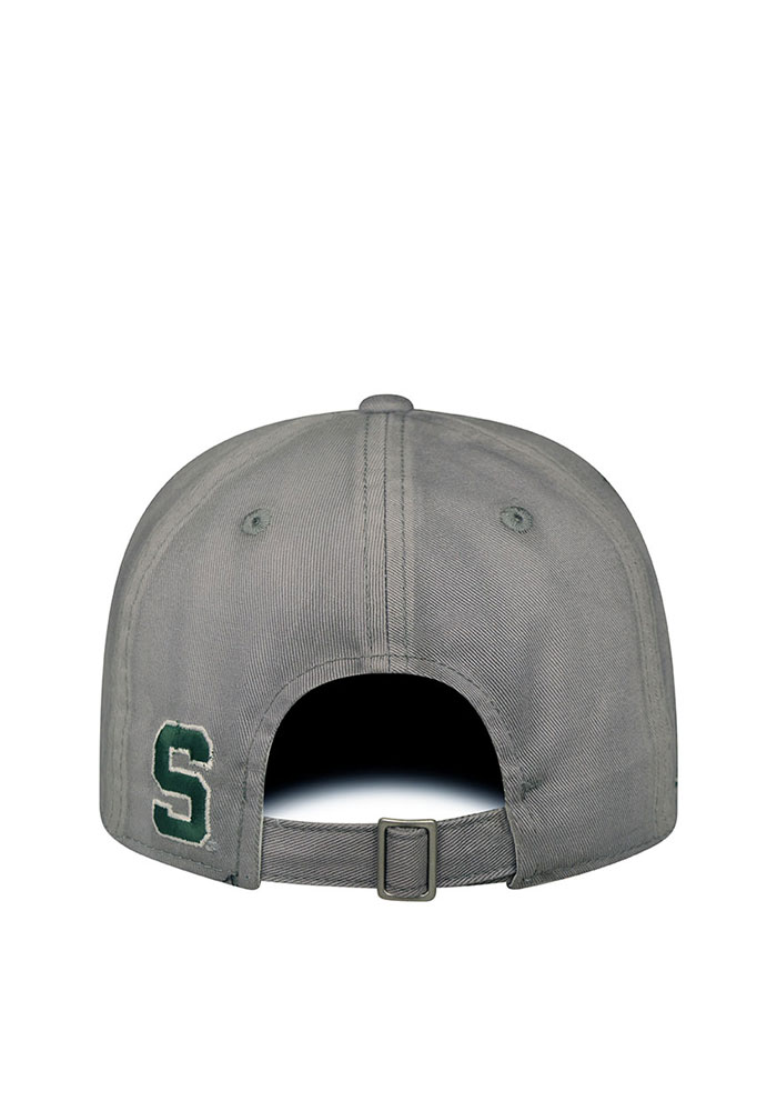 Top of the World Michigan State Spartans Vintage Crew Adjustable Hat - Grey - Image 2