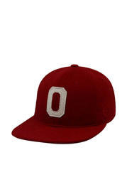 Top of the World Oklahoma Sooners Mens Red Vintage Natural Adjustable Hat