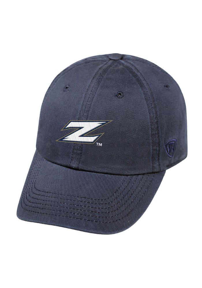 Top of the World Akron Zips Mens Navy Blue Crew Adjustable Hat - Image 1