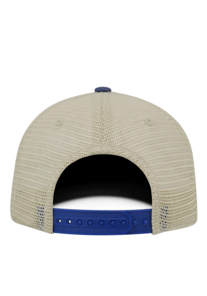 Top of the World Akron Zips Mens Navy Blue Vintage Mesh Adjustable Hat - Image 2