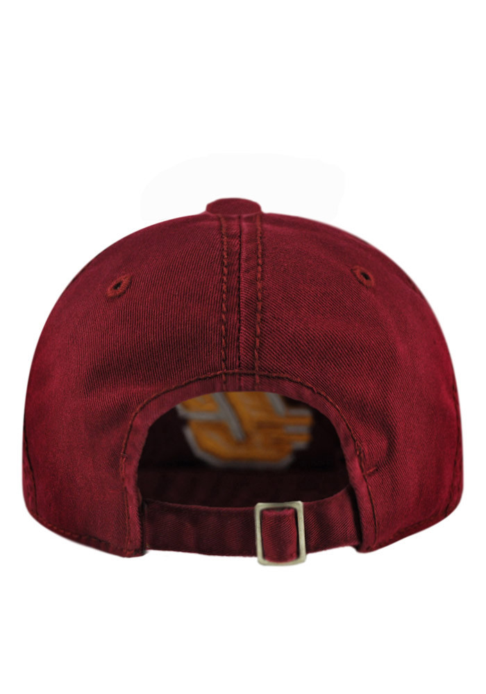Top of the World Central Michigan Chippewas Mens Maroon Crew Adjustable Hat - Image 2