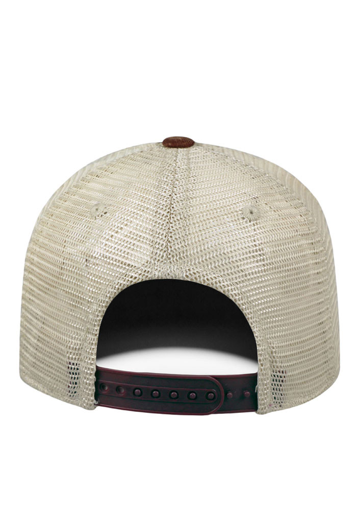 Top of the World Central Michigan Chippewas Mens Maroon Vintage Mesh Adjustable Hat - Image 2