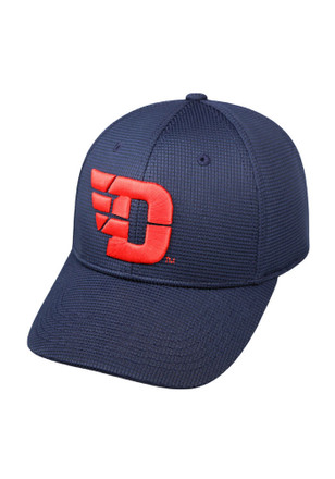 Top of the World Dayton Flyers Mens Navy Blue Booster Plus Flex Hat