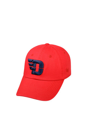 Top of the World Dayton Flyers Mens Red Crew Adjustable Hat