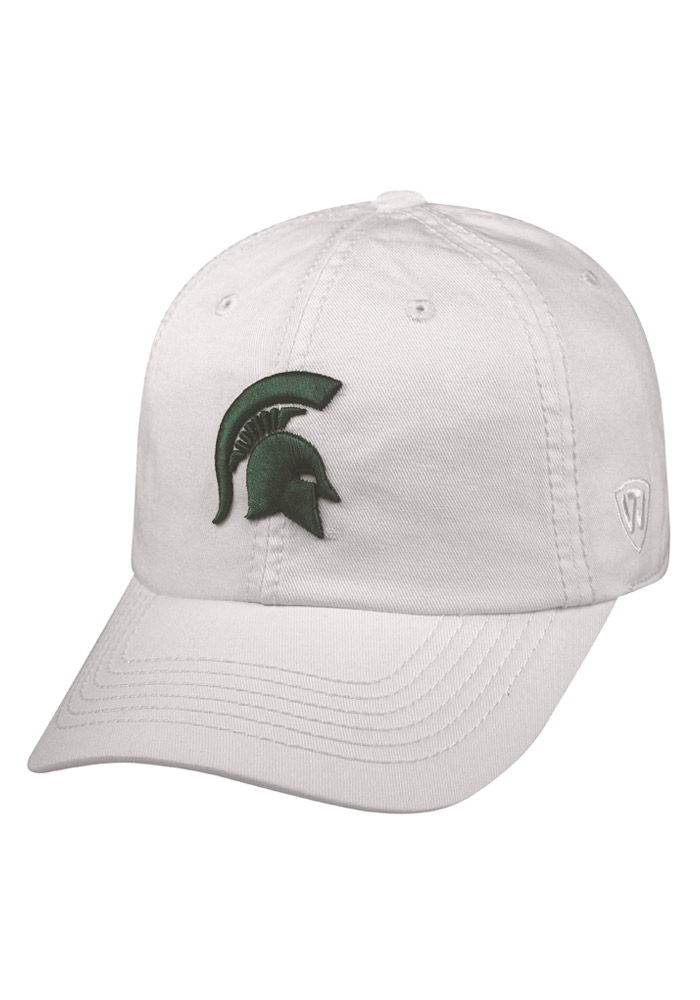 Top of the World Michigan State Spartans Crew Adjustable Hat - White - Image 1