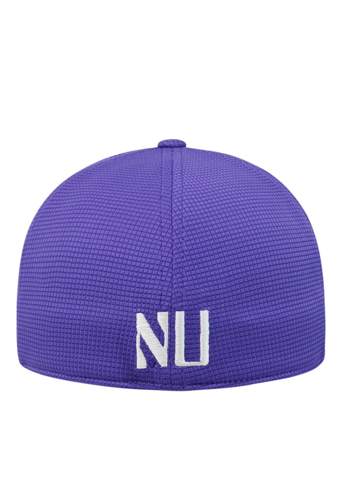 Top of the World Northwestern Wildcats Mens Purple Booster Plus Flex Hat - Image 2