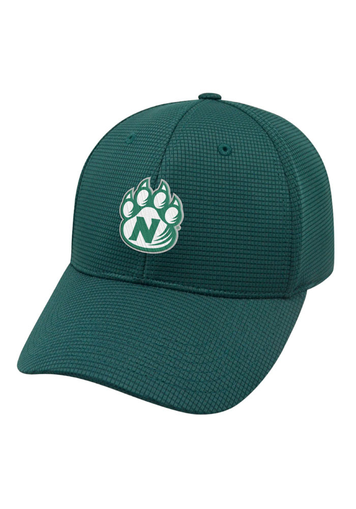 Top of the World Northwest Missouri State Bearcats Mens Green Booster Plus Flex Hat - Image 1