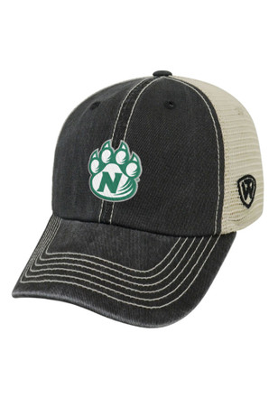 Top of the World Northwest Missouri State Bearcats Mens Black Vintage Mesh Adjustable Hat