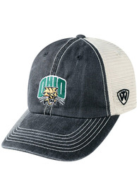 Ohio Bobcats Top of the World Vintage Mesh Adjustable Hat - Black