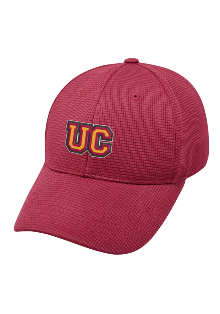 Top of the World Ursinus Bears Mens Red Booster Plus Flex Hat - Image 1