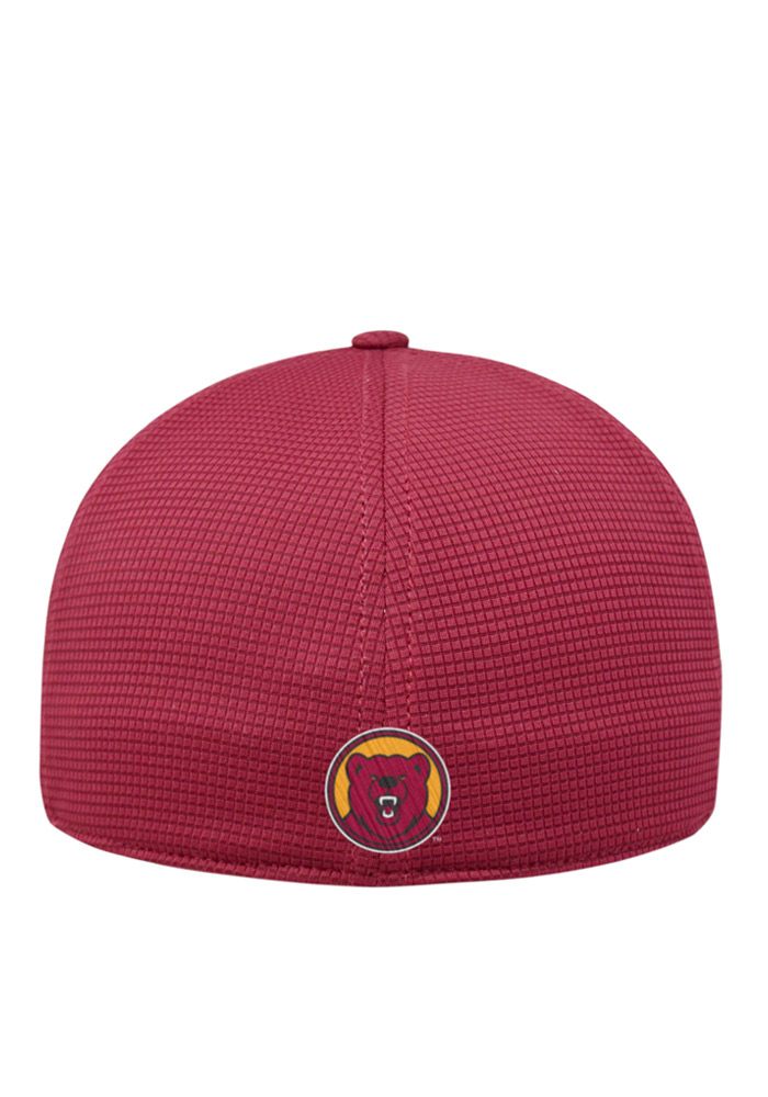 Top of the World Ursinus Bears Mens Red Booster Plus Flex Hat - Image 2