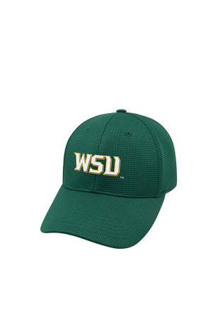 Top of the World Wright State Raiders Mens Green Booster Plus Flex Hat