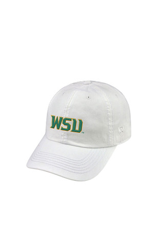 Top of the World Wright State Raiders Mens White Crew Adjustable Hat