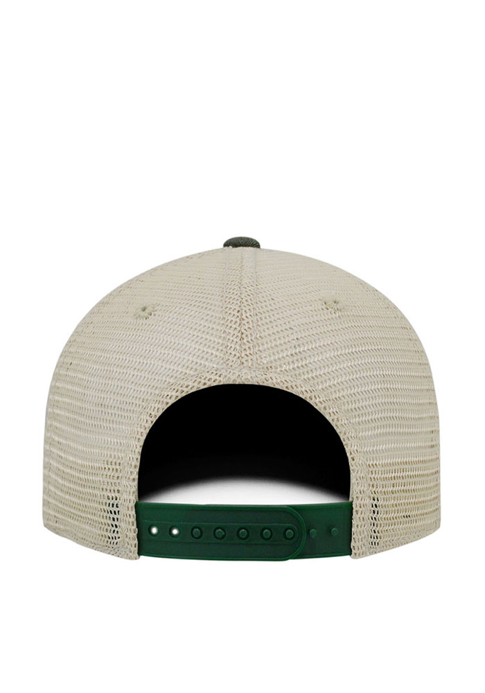 Top of the World Wright State Raiders Mens Green Vintage Mesh Adjustable Hat - Image 2