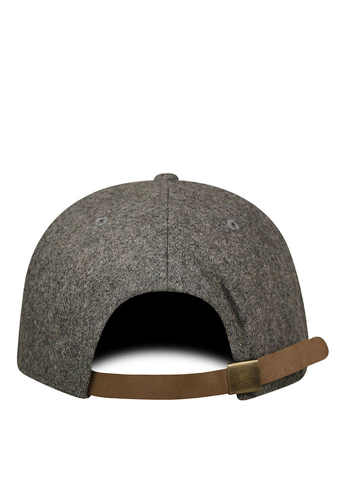 Top of the World Chicago Mens Grey Natural Adjustable Hat - Image 2