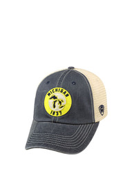 Michigan Top of the World Dirty Mesh Adjustable Hat - Navy Blue
