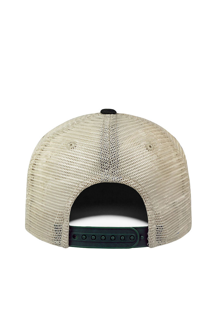 Top of the World Michigan Mens Green Dirty Mesh Adjustable Hat - Image 2