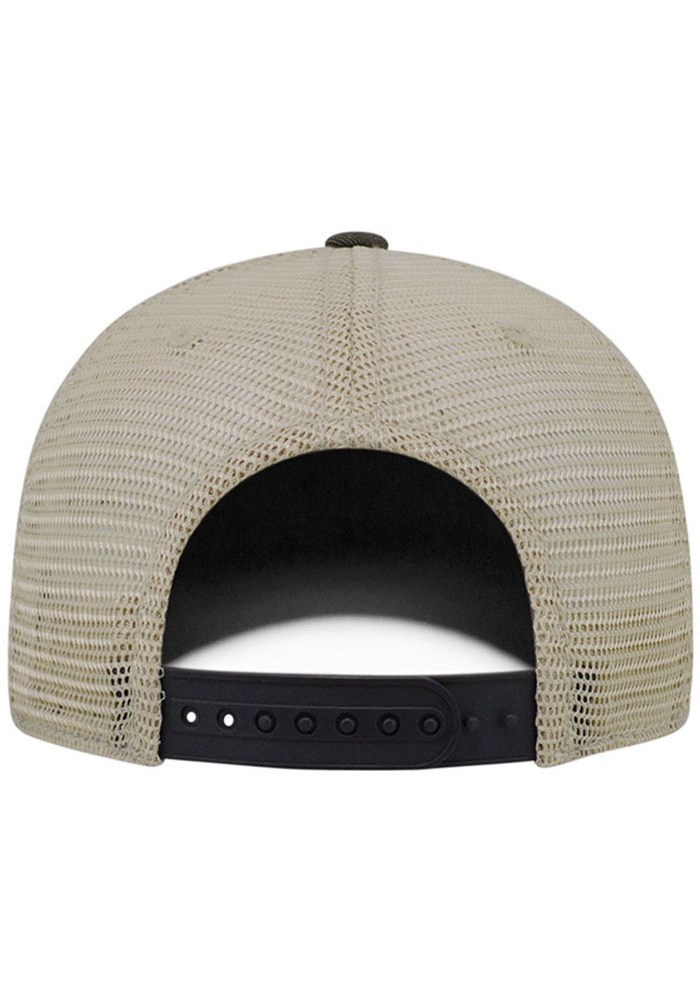 Top of the World Pittsburgh Mens Grey Dirty Mesh Adjustable Hat - Image 2