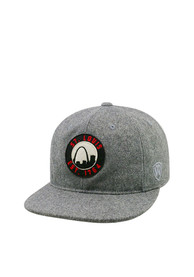 St Louis Top of the World Natural Adjustable Hat - Grey