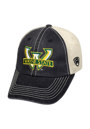 Top of the World Wayne State Warriors Mens Vintage Mesh Adjustable Hat