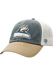 Wright State Raiders Offroad Meshback Adjustable Hat - Green