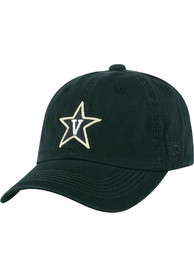 Vanderbilt Commodores Crew Adjustable Hat - Black