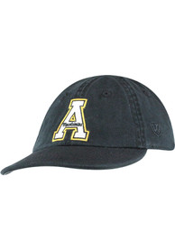 Appalachian State Mountaineers Baby Mini Me Adjustable Hat - Black