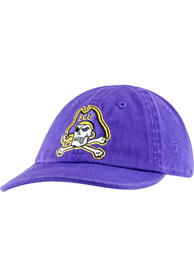 East Carolina Pirates Baby Mini Me Adjustable Hat - Purple